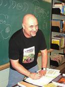 Simon Rose, book signing